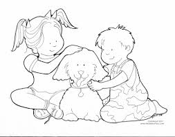 of kids helping others free coloring pages on art coloring pages