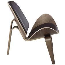 happy home designer copy furniture amazon com modway arch lounge chair walnut brown kitchen u0026 dining