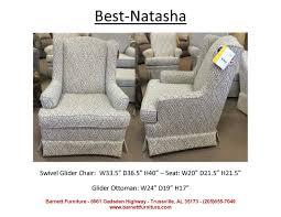 Gliding Chair Best Home Furnishings Natasha Swivel Glider You Choose The Fabric