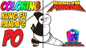 kung fu panda coloring pages dreamworks animation cartoon