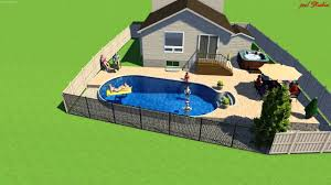 15 x 30 oval semi inground pool above ground pool ideas