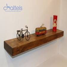 Thick Floating Shelves by Reclaimed Chunky Floating Shelves Wall Shelf Wood Rustic Wooden Ebay