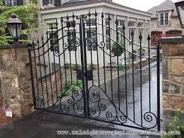 decorative gates and fences with iron gates denver colorado