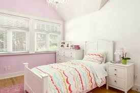 Girls Striped Bedding by Chandelier For Bedroom With Transitional Kids Also Chandelier