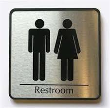 Mens And Womens Bathroom Signs Restroom Door Signs Hallway Bathroom Signs Medical U0026 Health