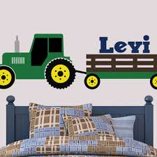 tractor wall decal john deere inspired jen u0027s vinyl decals