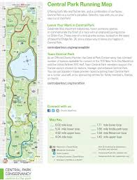 Central Park Zoo Map Map Find The Best Loops And Trails For Running In Central Park