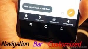 customize android android mobile ki navigation bar ko customize kaise kare helpgyan
