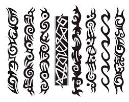 simple tribal band tattoo boedesigns clip art library