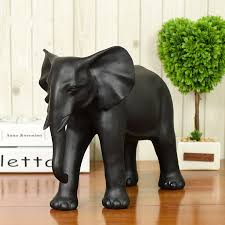 aliexpress com buy new handmade black large lucky elephant