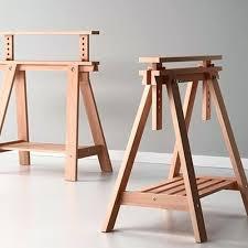 Wood Desk Plans by Desk Wood Sawhorse Desk Diy Sawhorse Desk Plans Sawhorse Desk