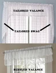 Lorraine Curtains Lace Curtains Priscilla Kitchen Curtains Valances Or Window