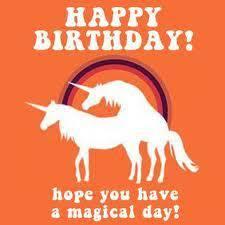 Unicorn Birthday Meme - unicorn happy birthday happy birthday pinterest happy