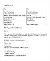 7 sample company resignation letters free sample example