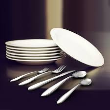 amazon com royal stainless steel silverware set mirror polished