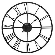 articles with extra large oversized wall clock tag large black