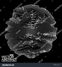 futuristic style abstract vector white mesh on dark stock vector 405694222