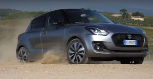 suzuki swift allgrip can play in the dirt thanks to awd