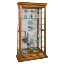 Images Of Curio Cabinets Chintaly Coventina Corner Curio Cabinet Hayneedle
