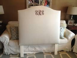 Fabric For Upholstered Headboard by Bedroom Elegant White Tufted Headboard For Twin Headboard Idea
