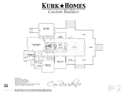 draft of a house plan house interior