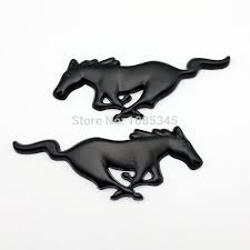 Black Mustang Grille Emblem Mustang Emblems Promotion Shop For Promotional Mustang Emblems On