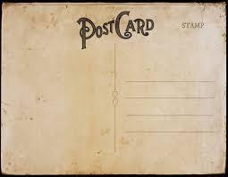vintage postcard templates