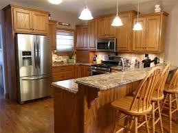 oak cabinet kitchen ideas oak kitchen ideas on kitchen and 1000 about oak kitchens