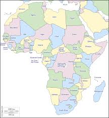 Gabon Africa Map by Africa Free Map Free Blank Map Free Outline Map Free Base Map