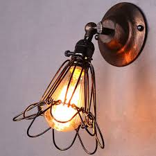 Wall Sconces Rustic Industrial Vintage Edison Light Wall Sconce Retro Wall Lamp