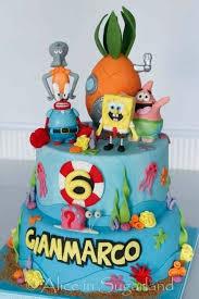 sponge bob cakes spongebob birthday cake top ten spongebob cake ideas birthday