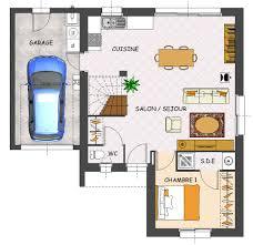 plan de maison 4 chambres avec age plan maison en l avec garage beautiful plan de maison en d gratuit