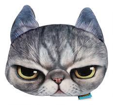 Throws And Pillows For Sofas by Cute Cartoon 3d Animal Face Cover Throw Pillow Sofa Car Plush