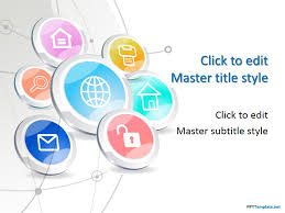 social media powerpoint template free download the highest