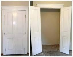 Wood Closet Doors Narrow Closet Doors Closet Closet Door Designs Wooden Closet Door