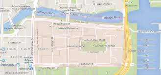 Downtown Chicago Map Luxury Apartments For Rent In Lakeshore East Chicago Il