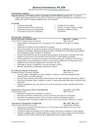 Sample Comprehensive Resume For Nurses Professional Application Letter Writing Website Usa Arizona