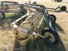 john deere 670 hay rake item db4613 sold december 28 ag