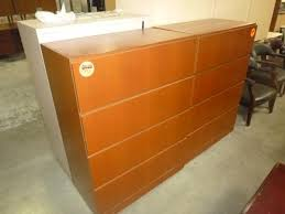 Wood Lateral File Cabinet 4 Drawer Hoppers Office Furniture Used File Cabinets