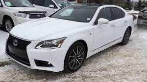 used lexus for sale ls460 pre owned white 2013 lexus ls 460 awd f sport package review