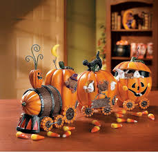 how to decorate a pumpkin for thanksgiving amazon com 1 x the pumpkin express train decorative accessories