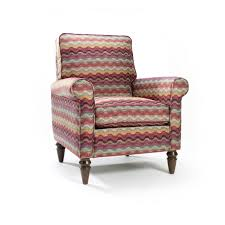 Swivel Chairs Living Room Upholstered by Furniture Purple Upholstered Accent Chair With Wooden Leg With