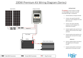 how to wire solar panel 220v inverter 12v battery dc load and