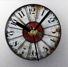 100 creative clocks amazon com glomarts round wooden silent
