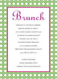 brunch invitation wording birthday brunch invitations wblqual