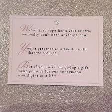wedding gift amount for friend best 25 wedding gift poem ideas on honeymoon fund