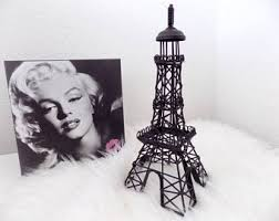 eiffel tower table wire eiffel tower etsy