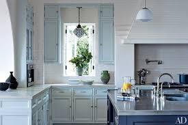 blue kitchen cabinets ideas blue painted kitchen cabinets daltonaux com
