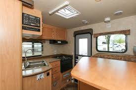 Class A Motorhome With Bunk Beds Rentals Truck Cer With Bunk Bed In Slide Out Fraserway Rv