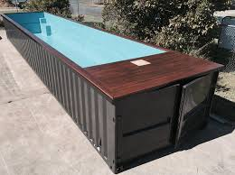 we now supply shipping container pools more info can be found on